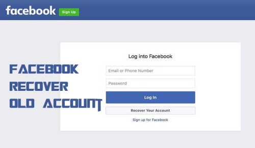 Facebook Recover Old Account