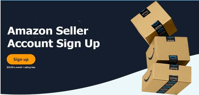 Amazon Seller Account Sign Up