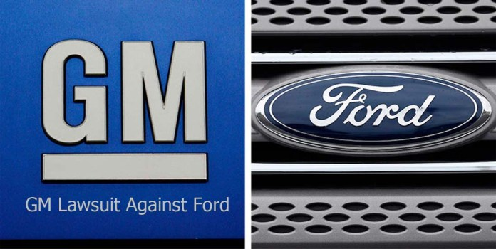 GM Lawsuit Against Ford
