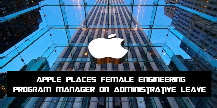 Apple Places Female Engineering Program Manager on Administrative Leave