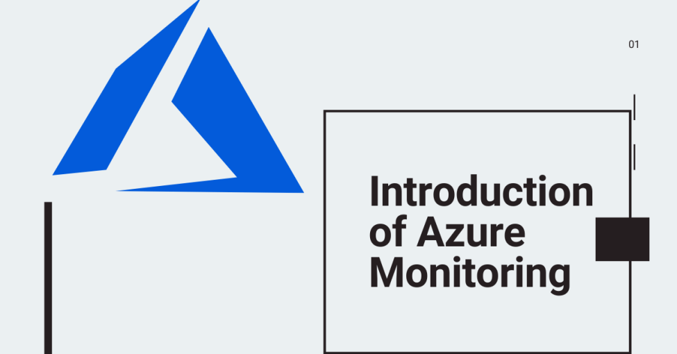 azure monitor can trigger alerts- Azure Monitor introduction
