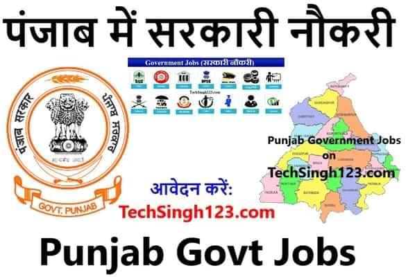 Punjab Government Jobs पंजाब में सरकारी नौकरी Punjab Govt Jobs