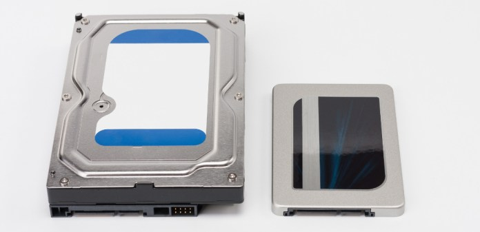 SSD (Solid State Drive) and HDD (Hard Disk Drive)