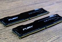 Fury DDR4 RAM duel stick