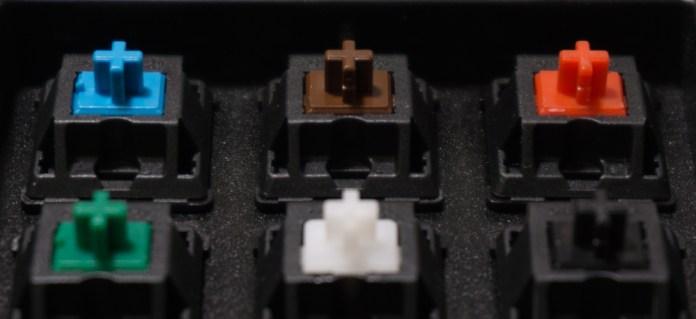 Mechanical Keyboard Switch Comparison