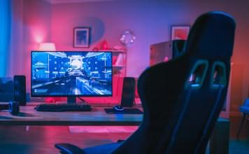 Budget Gaming Chair PC Setup