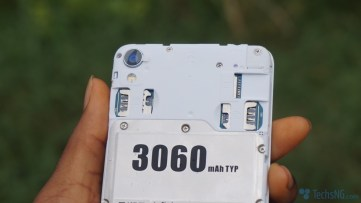 Infinix Smart sim and SD card ports