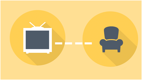 distance to your TV