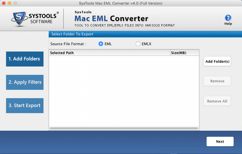 How to Convert EML files to MBOX file format for Mac OS