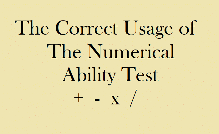 Numerical Ability Test