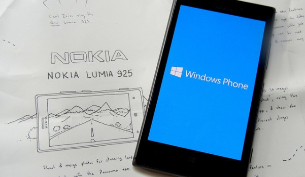 Nokia Lumia with Windows phone OS