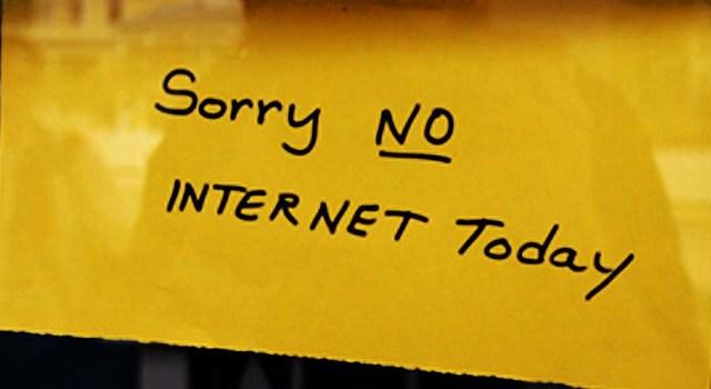 Paul miller left Internet for a year