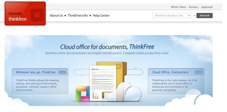Thinkfree office suite