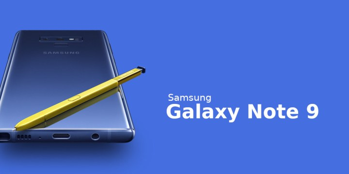 Samsung Galaxy Note 9 launched : Specifications & Price