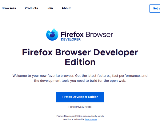 Firefox Developer Edtion