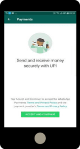 How to Send or Recieve Money Via Whatsapp UPI to Bank Account 2018