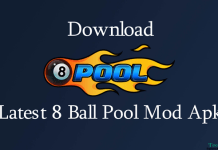 8 Ball Pool Mod Apk Version Download