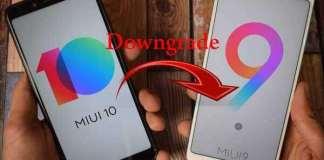 Downgrade Miui 10 to Miui 9 Any Xiaomi Devices
