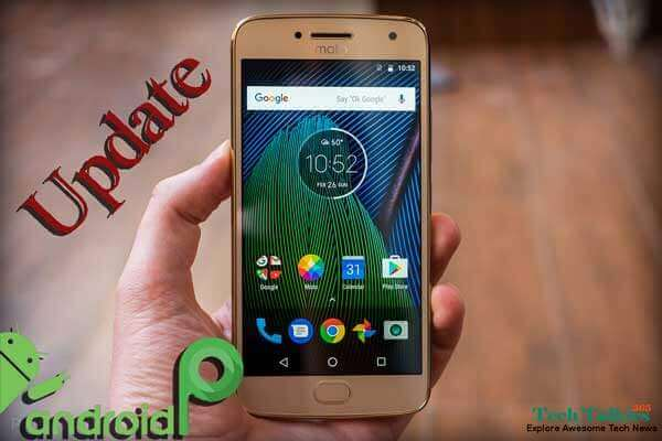 Update Moto G5 Plus to Android 9.0 P