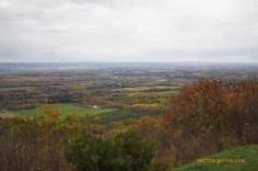Rainy Skies over Autumn Fields