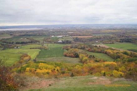 Fall 2011. Location: The Lookoff, Canning, Nova Scotia Canada.
