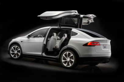 Tesla's upcoming Model X