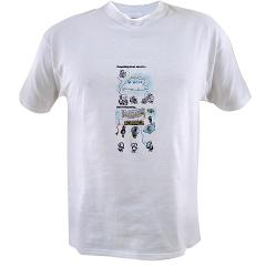 T-Shirt with Cloud Computing Graphic