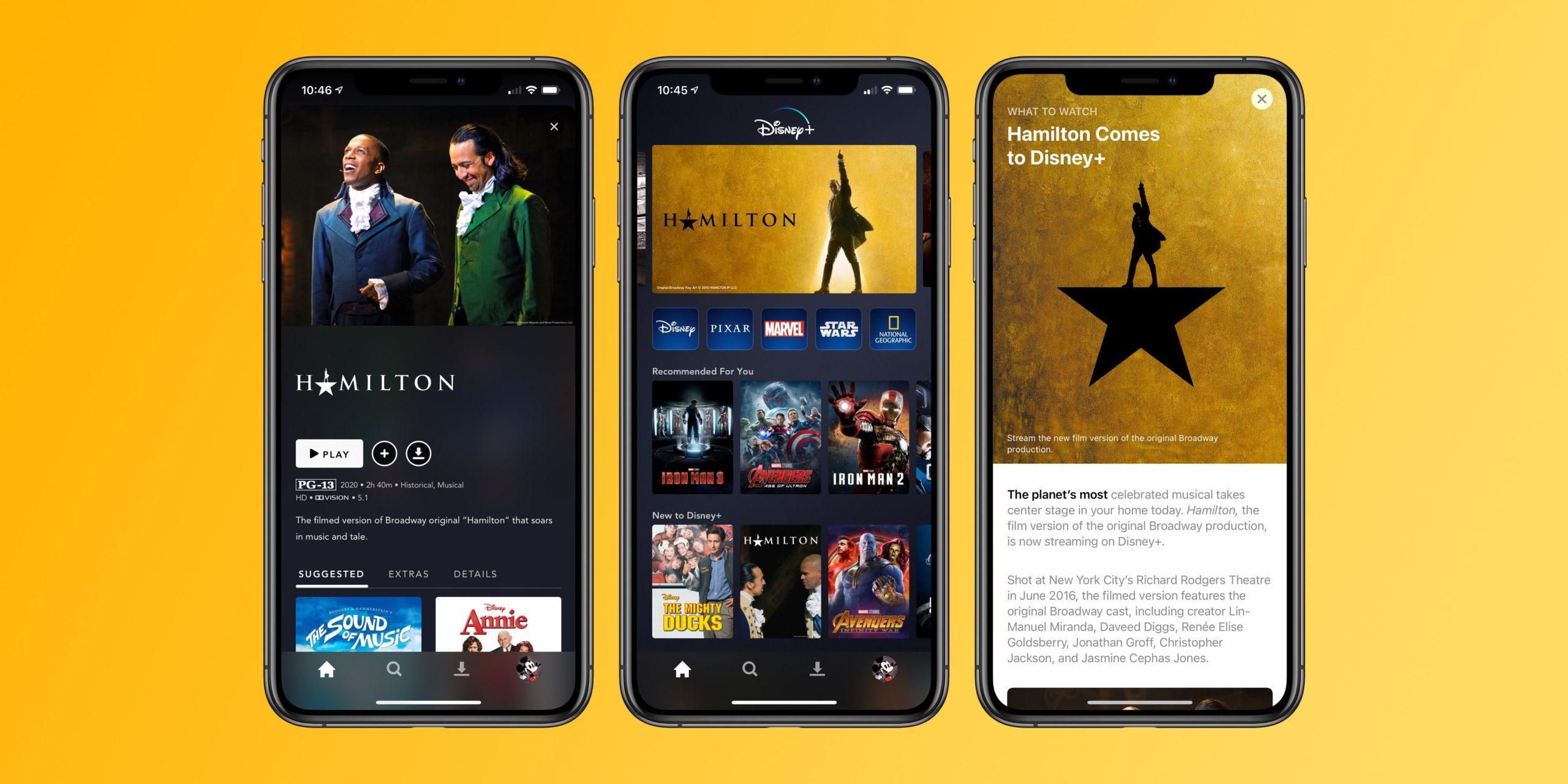 watch Disney+ on iPhone, iPad, Apple TV