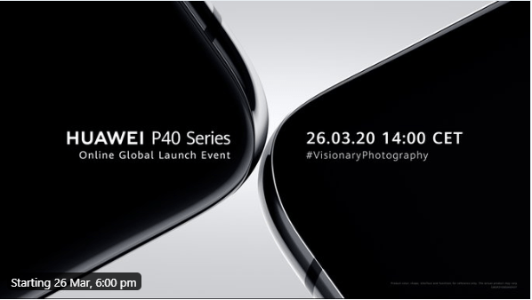 Huawei P40 Series Global launch event