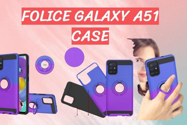 Folice Galaxy A51 Case