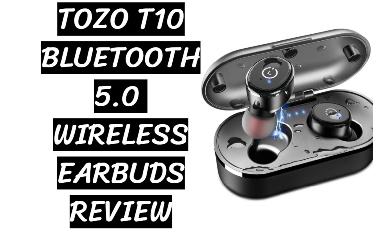 Tozo t10 bluetooth 5.0 wireless earbuds review