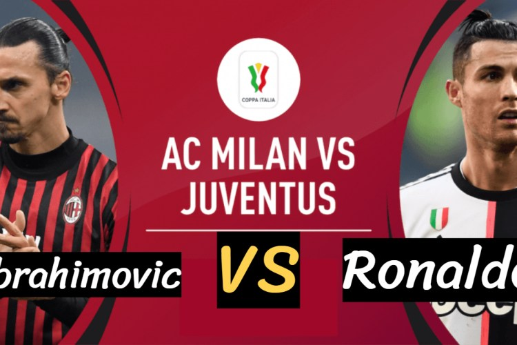 Ac Milan vs Juventus - Ibrahimovic vs Ronaldo 2020