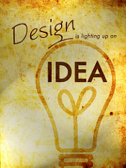 Design is the lighting up on an idea