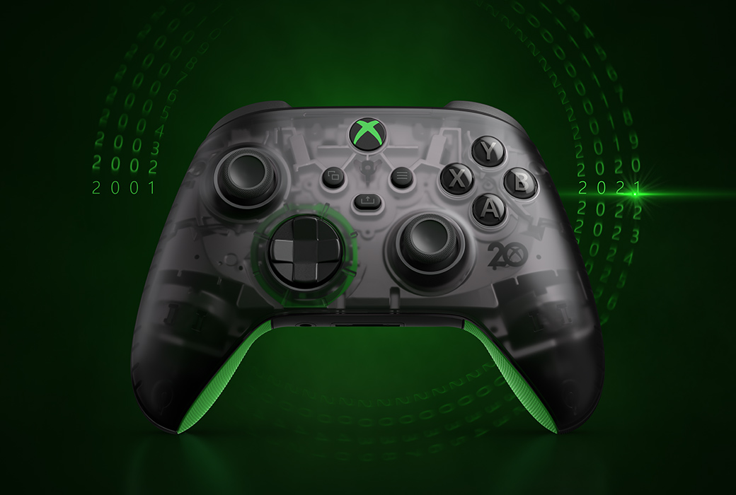 Xbox 20-års controller. (Foto: Microsoft)