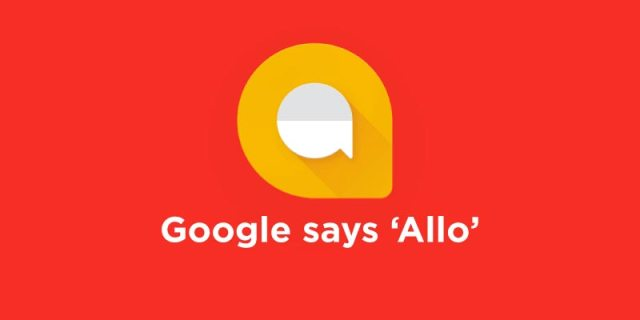 Google says Allo
