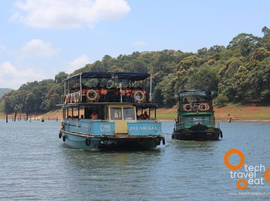 Boating in Thekkady