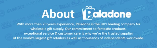 Paladone, gifts, gadgets, keychains, mugs, toys