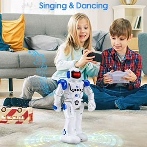 Sing and dancing Smart robotic toys