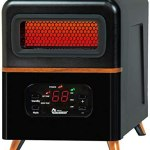Dr Infrared Heater DR-978 Dual Heating Hybrid Space Heater, 1500W with remote , more Heat