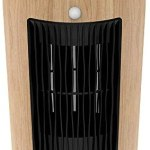 XBUTY Ceramic Space Heater – 1500W Portable Heater with Multi-protection and 3500R/M High-speed Fan, 3 Settings, 90° Oscillation, Smart PIR, ETL Listed,for Home and Office, 2-Year Warranty,Yellow wood