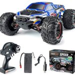 INGQU 1:10 Scale High Speed 60km/h 4WD Off-Road RC Car 2.4Ghz Brushless Remote Control Monster Truck