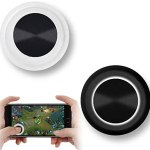 Vakili Mobile Phone Game Joystick Game Control Touch Screen Joypad Game Controller for iPad iPhone Android Mobile Tablet Smart Phone Joystick Touch Screen Joypad Tablet Funny Game Controller 2PACK