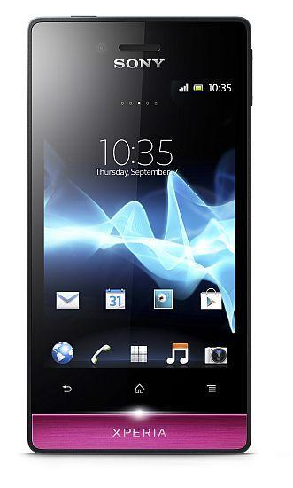 Sony Xperia Miro Android smartphone in Indian market