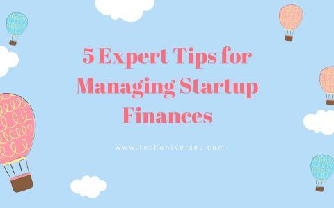 Startup Finances Tips