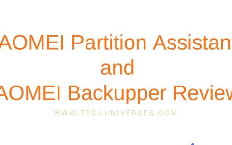 AOMEI Partition Assistant and AOMEI Backupper Review