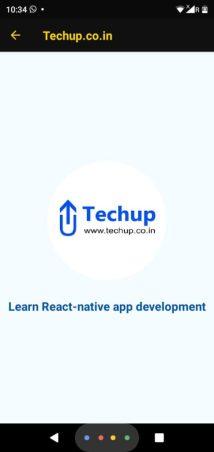 Display circular image in react-native