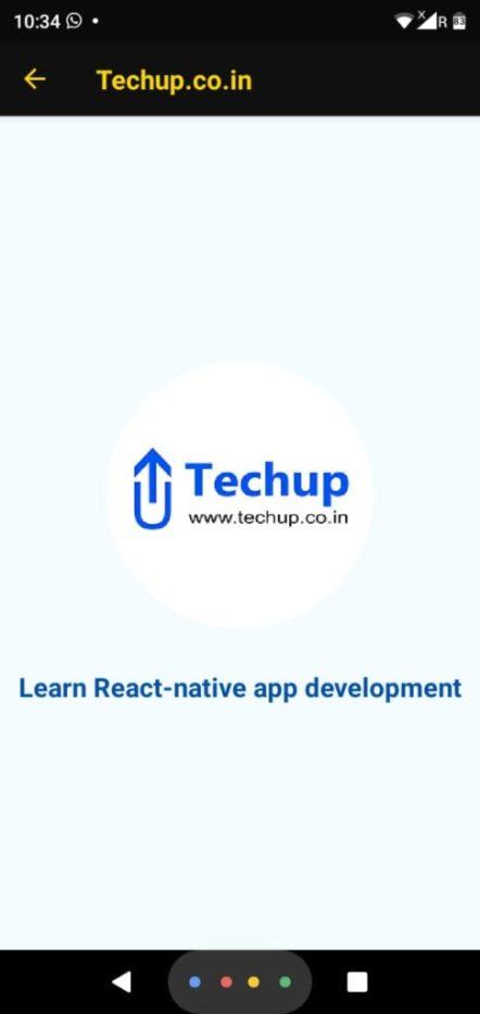 Display circular image react-native