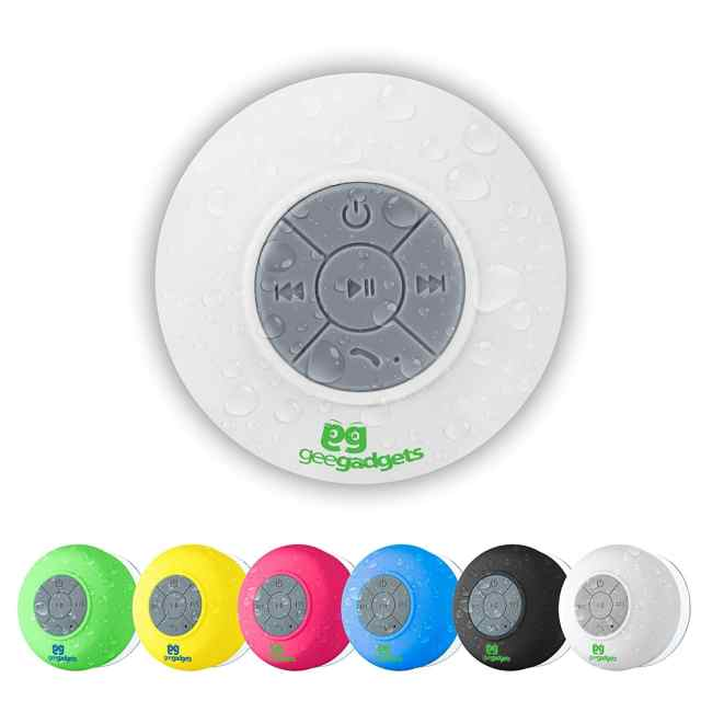 Portable Bluetooth Shower Speaker with Suction Cup