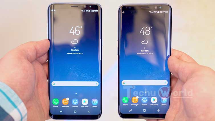 samsung galaxy s8 and s8+