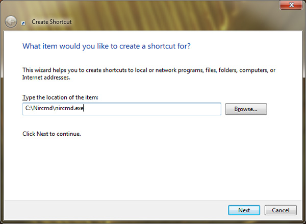How to Turn Off a Monitor using a Desktop Shortcut on Windows 3